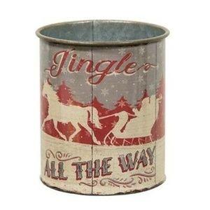 Jingle All The Way Can Nostalgic Tin Can